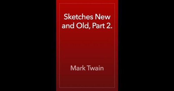 Read Sketches New and Old, Part 2. online