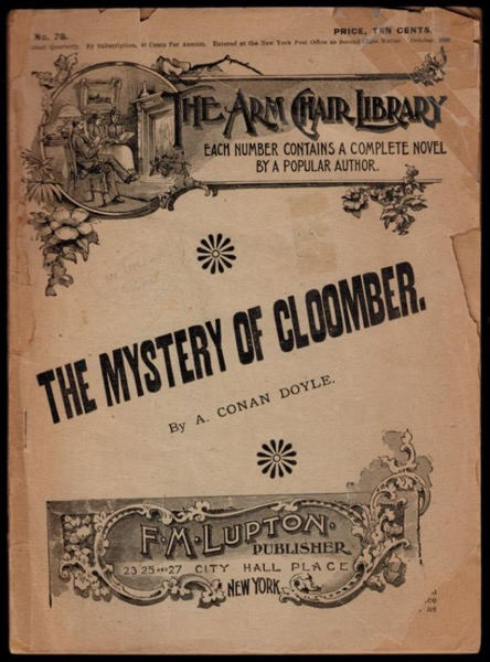 Read The Mystery of Cloomber online
