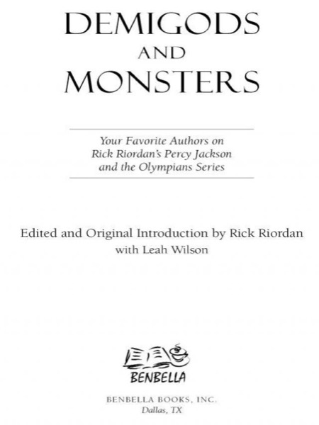 Read Demigods and Monsters online