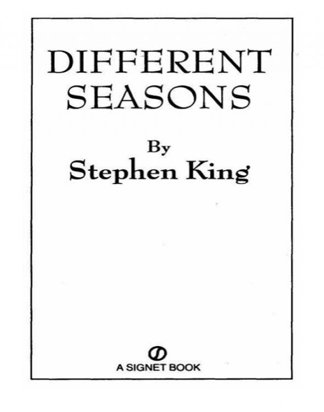 Read Different Seasons online
