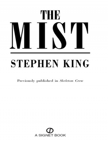Read The Mist online